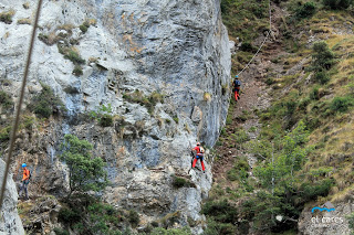 Via Ferrata de Valdeon route
