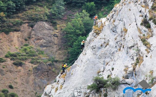 Via Ferrata de Valdeon climb