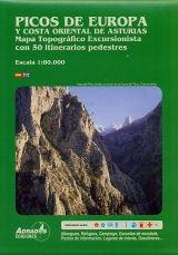 mapa-excursionista-Picos-de-Europa-escala-1:80.000-Miguel-Adrados