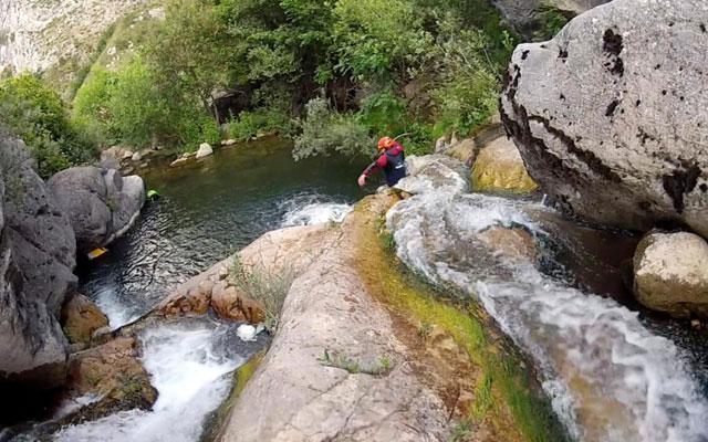 canyoning in camping el cares picos de europa
