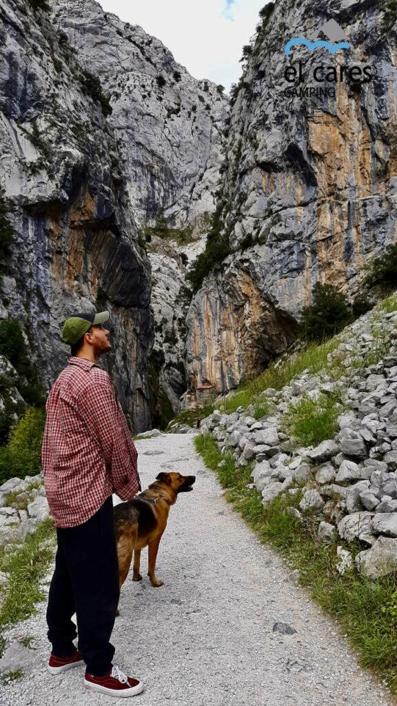 ruta del Cares con tu perro