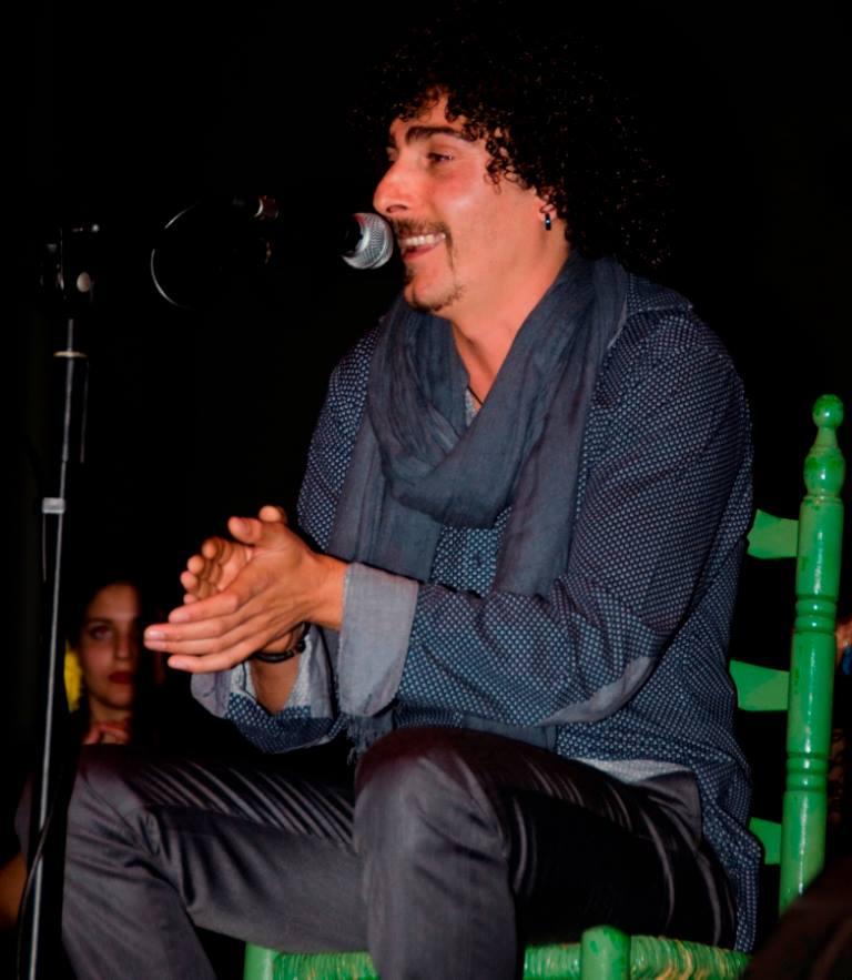Jordi el Flaco, en la percusión