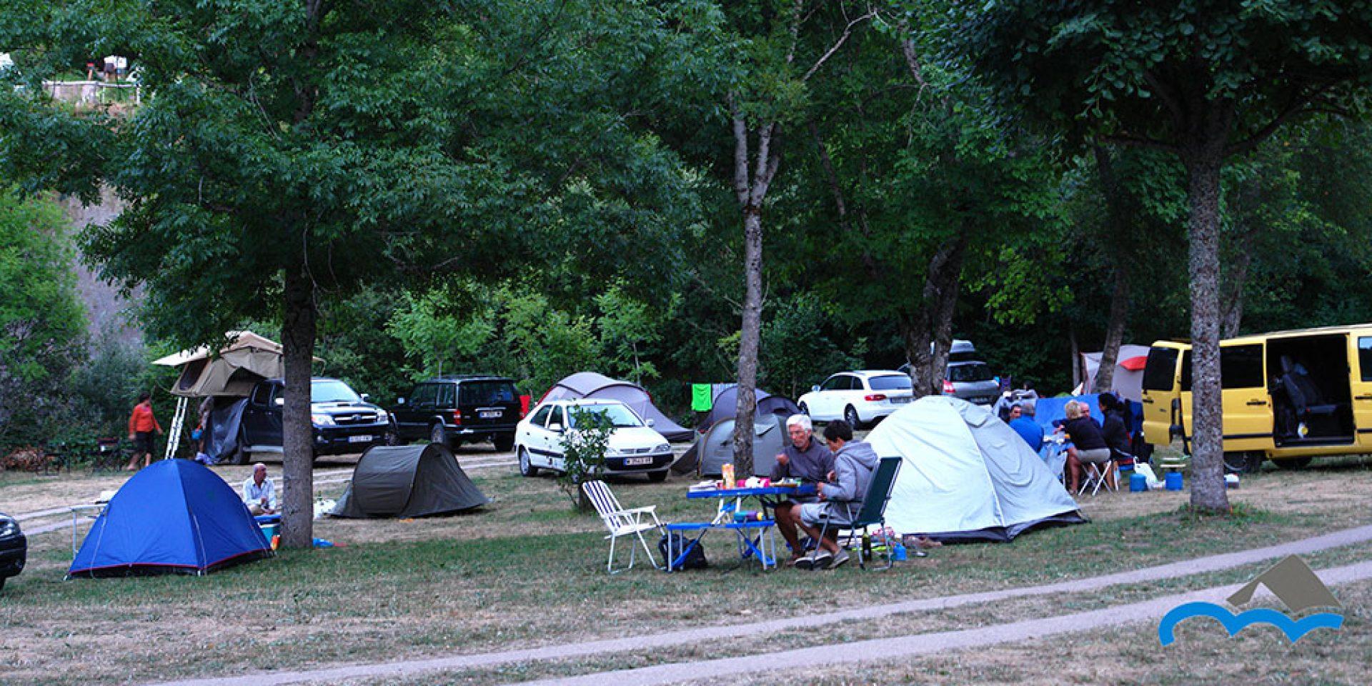 acampada sin parcelar