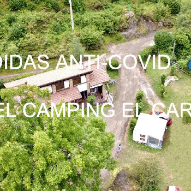 Camping, alojamiento seguro en tiempos de covid.